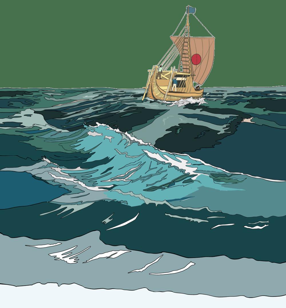 Kontiki sailing