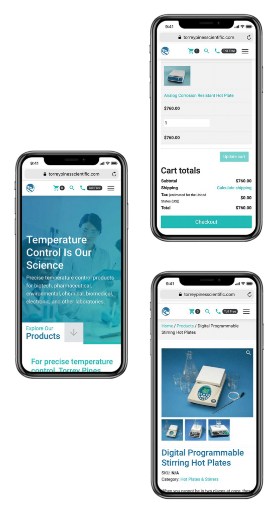 TPS Mobile Website