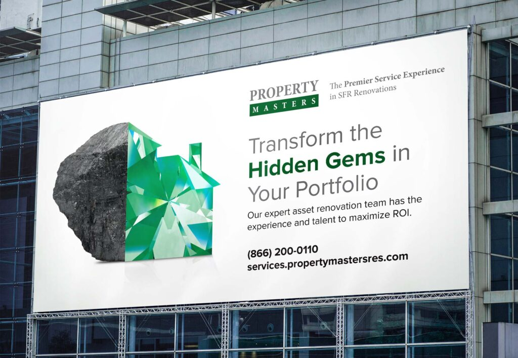 Property Masters Hidden Gems Campaign by L7 Creative